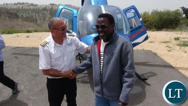 TB Joshua In Israel