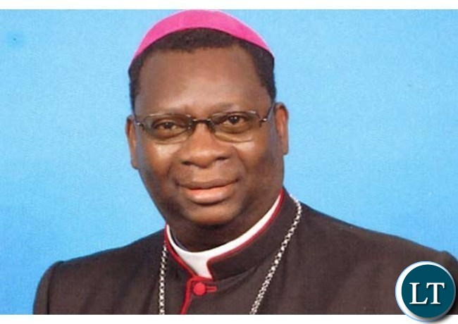 Bishop Moses Hamungole of Monze Diocese