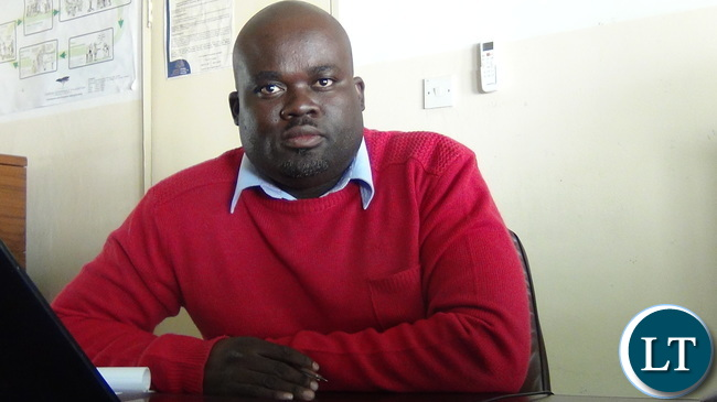 FODEP Executive Director Mweenge Chimfwembe