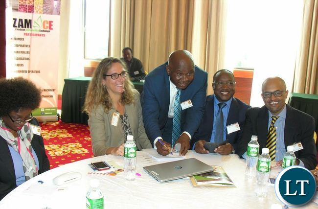 Signing ceremony of the grain export deal with East Africa