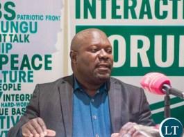 MINISTER of National Development Lucky Mulusa