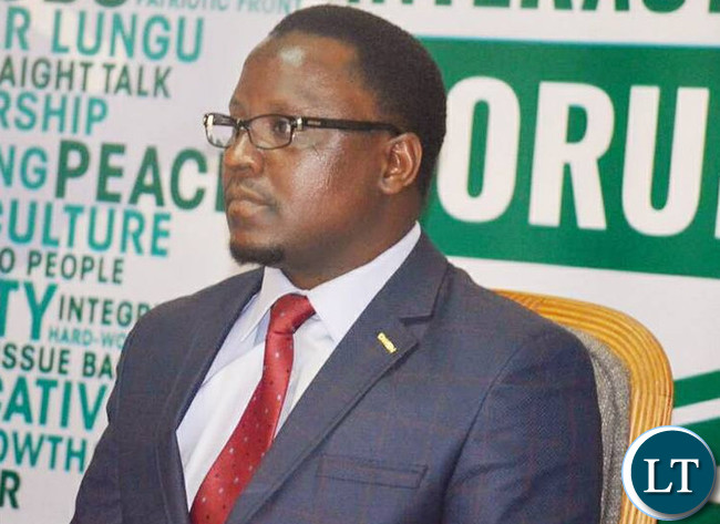 Central Province Permanent Secretary Chanda Kabwe