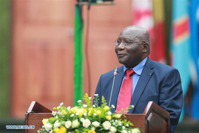 Minister of General Education Dennis Wanchinga