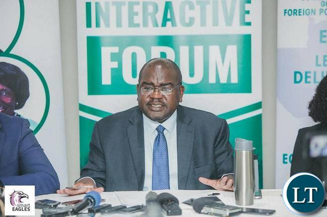 Health Minister Dr Chilufya