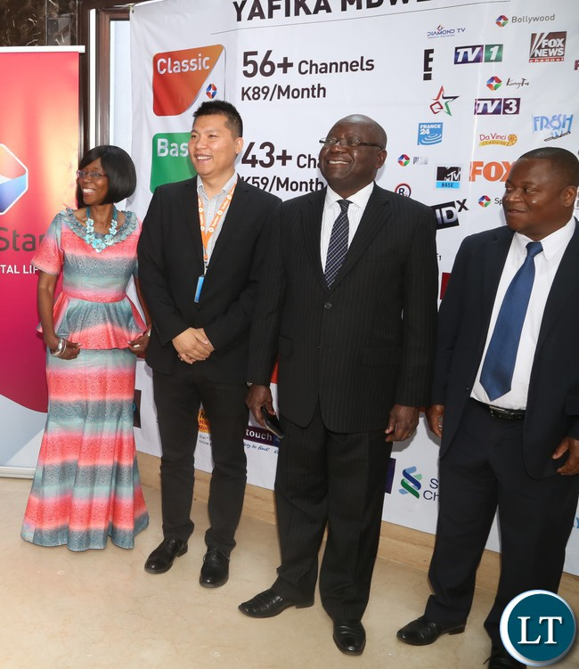 Zambia : TOPSTAR subscription Bouquets Launch in pictures