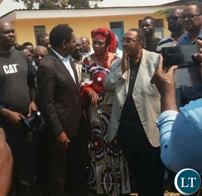 GBM , Masebo and HH at the Court in Luanshya