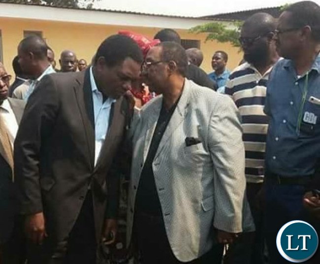 GBM and HH at the Court in Luanshya