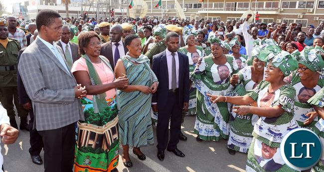 Lungu travel to Angola