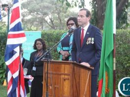 British High Commissioner to Zambia, Fergus Cochrane-Dyet