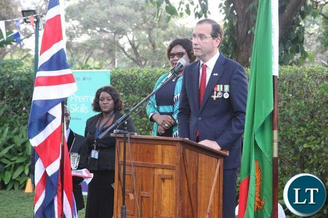 British High Commissioner to Zambia, Fergus Cochrane-Dyet