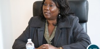 Minister of Community Development and Social Services Emerine Kabanshi