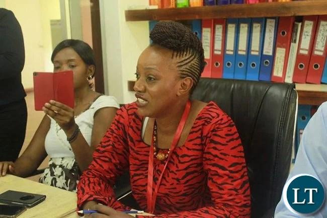 ActionAid Zambia Director Nalucha Ziba