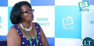 Minister of Higher Education Nkandu Luo