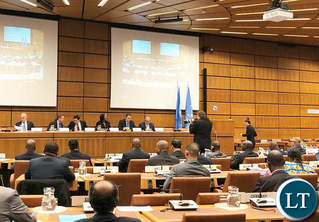 MINISTER of Commerce, Trade and Industry, Hon Margaret Mwanakatwe at the UNIDO Least Developed Countries (LDCs) Ministerial Conference