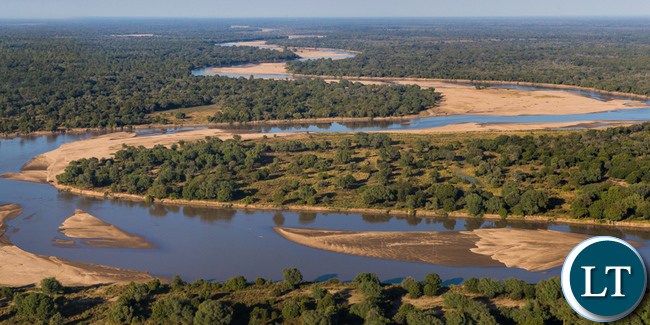 Luangwa Valley Ariel View