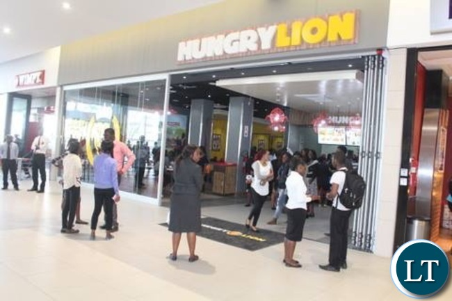 Hungry Lion Levy Mall