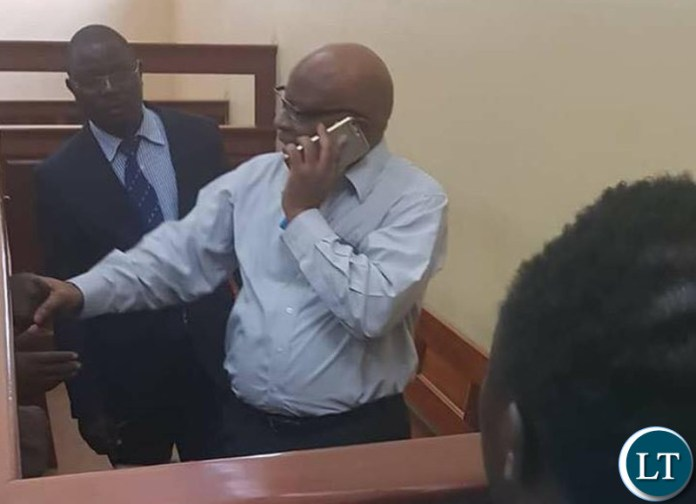 Dr Nevers Mumba in court
