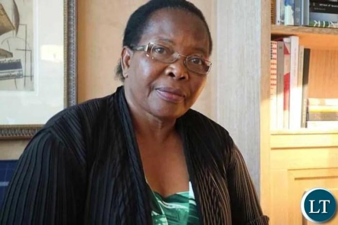 Chief Justice Irene Mambilima