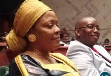 Chilubi and Kasama Members of Parliament Rosaria Fundanga and Kelvin Sampa