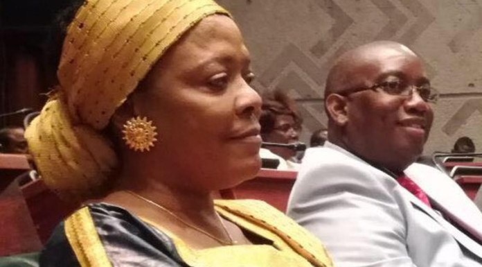 Chilubi and Kasama Members of Parliament Rosaria Fundanga and Kelvin Sampa