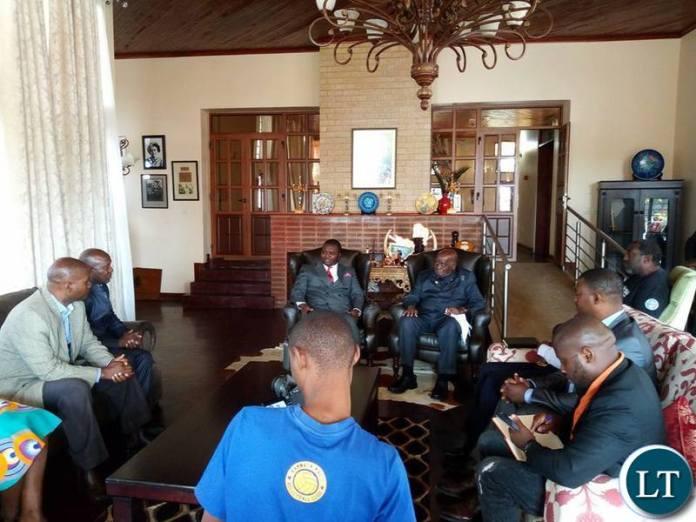 KK with ZCID board members