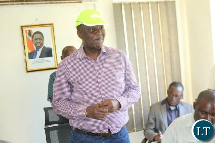 Works and Supply Minister Felix Mutati