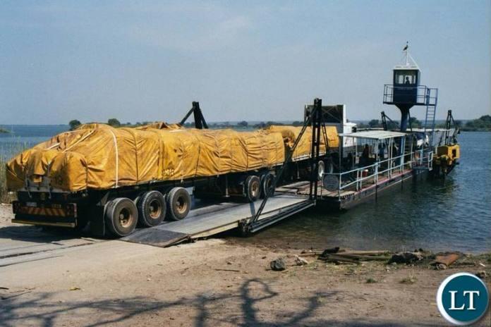 Zambezi Drifter Pontoon at Kazungula