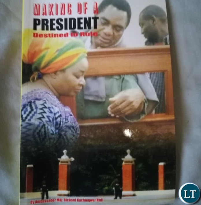 "The book titled Making of a ""President, Destined to Rule"""
