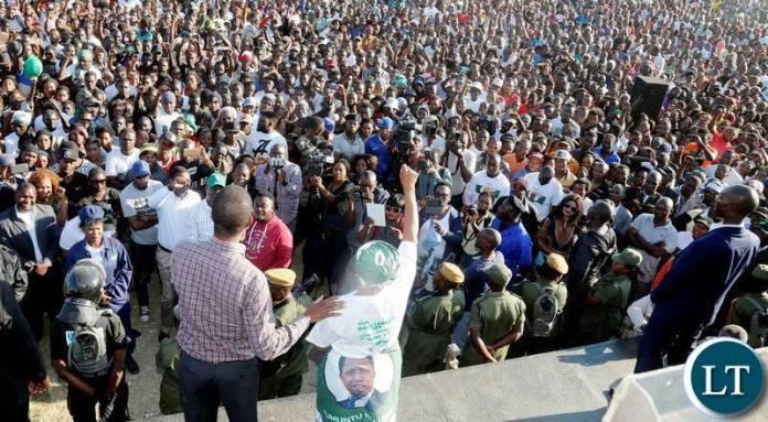 PF's Chilanga Rally