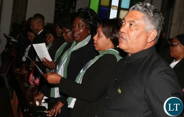 PF Ministers are the Funeral of Gender Minister Victoria Kalima