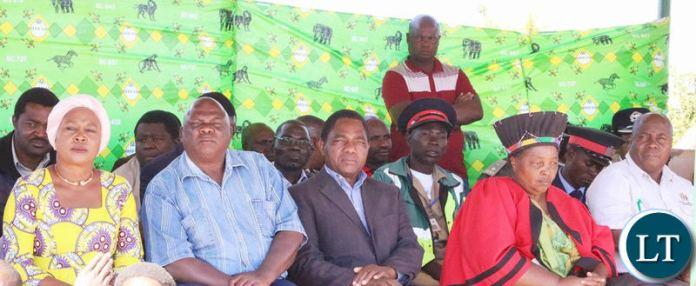 Samu Lya Moomba Lwiindi traditional ceremony in Chieftaincy Choongo in Monze.