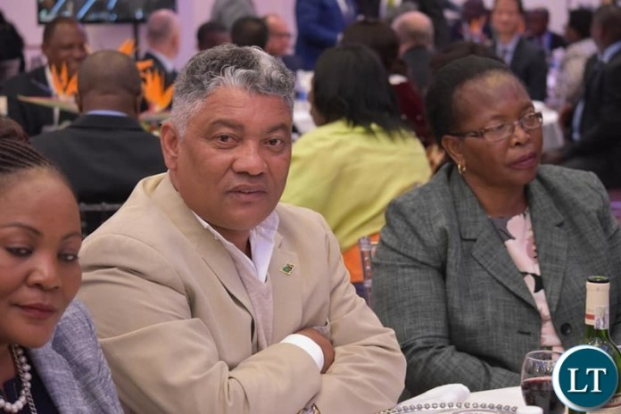 Givern Lubinda and Chief Justice Ireen Mambilima