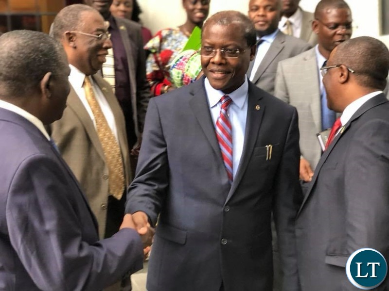 Zambia : Zambian delegation in the U S for the Africa Homecoming