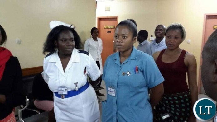 Minister in charge of Lusaka province Hon Bowman Lusambo impromptu visit at Lusaka's Health facilities