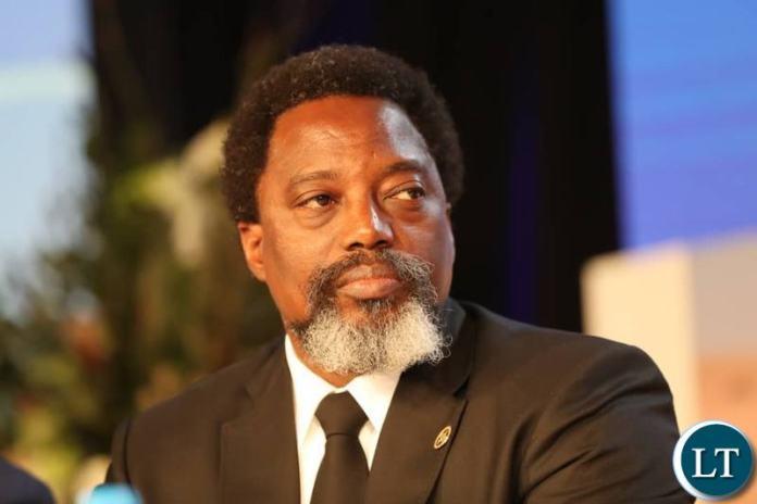 Democratic Republic of Congo(DCR) Joseph Kabila at the SADC Summit