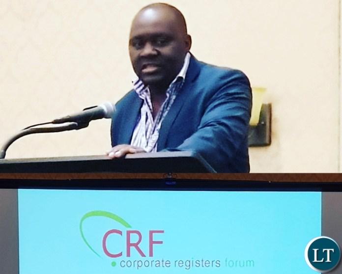 Christopher Mapani from PACRO Zambia