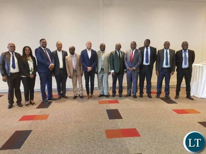 Bilateral negotiations   Team From Zambia and DRC regarding the Kasomeno-Mwenda Road between Zambia and Democratic Republic of Congo.