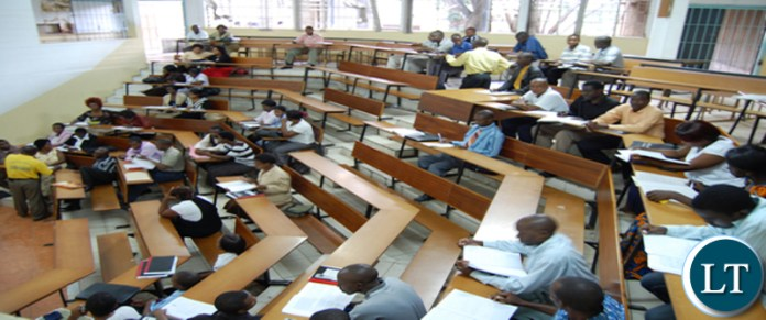 Exams at UNZA