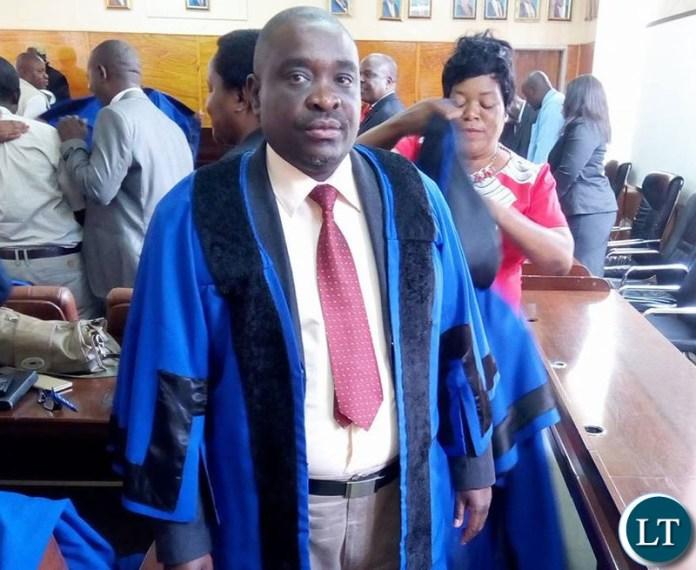 Ndola District Youth Secretary Oscar Himanga
