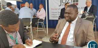President of the Economic Association of Zambia(EAZ), Dr. Lubinda Habazoka