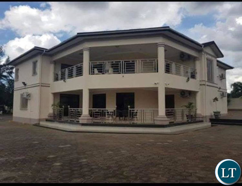 Seized property alleged to belong to Lt. General Chimese