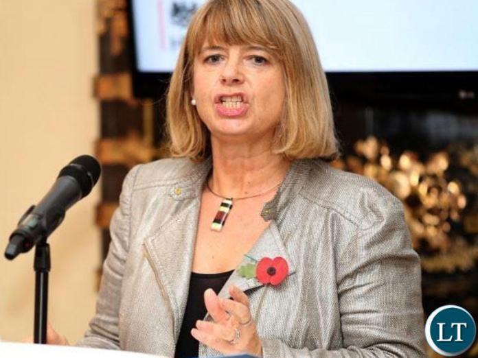 UK Minister for Africa Harriett Baldwin