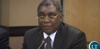 UNITED LIBERAL PARTY President Sakwiba Sikota S.C
