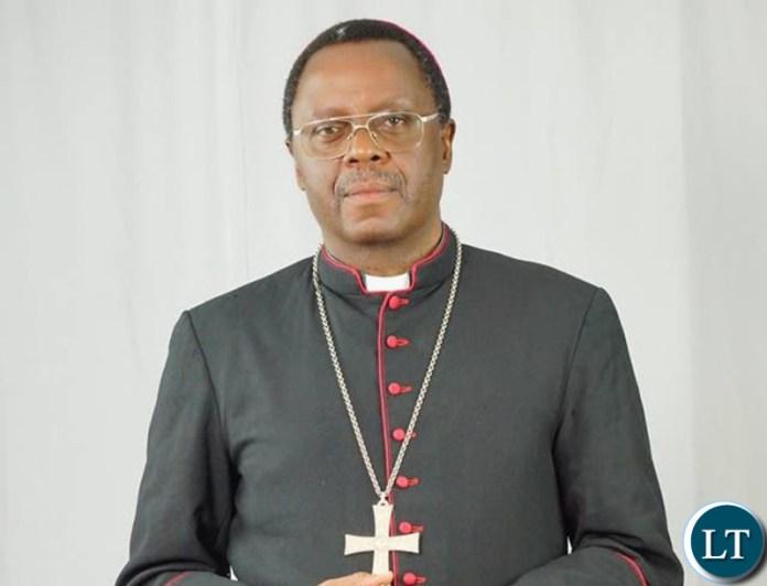 Zambia Conference of Catholic Bishops (ZCCB) President Rev. George Lungu