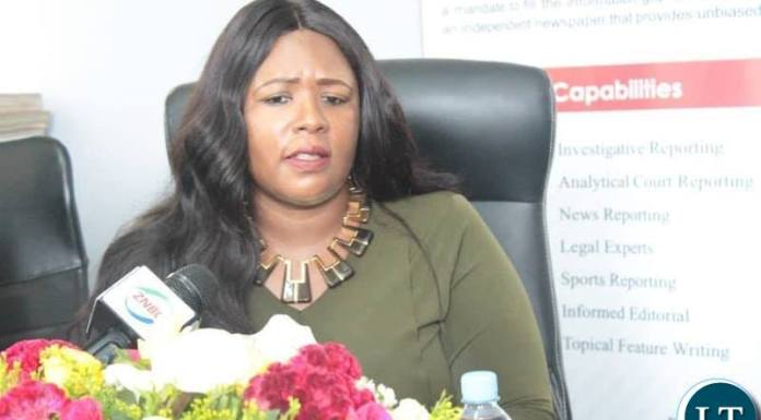 Information and Broadcasting Services Minister Dora Siliya