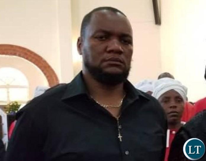 Lusaka mayor Miles Sampa