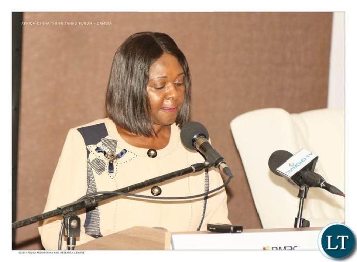 Finance Minister, Margaret Mwanakatwe