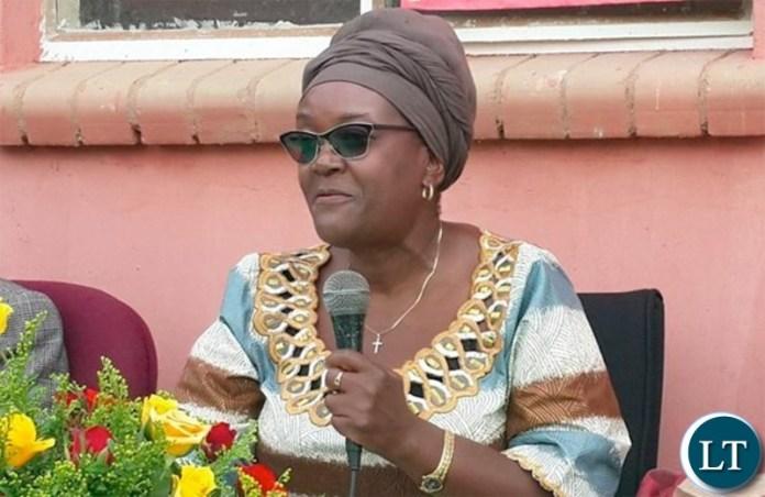 Ministry of Gender Permanent Secretary Auxila Ponga