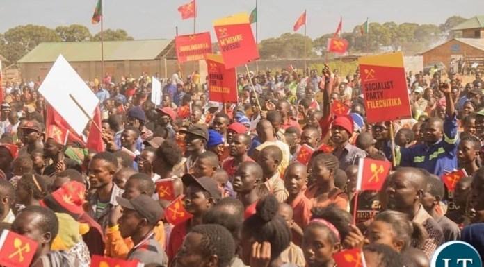 Socialist Party Public Rally