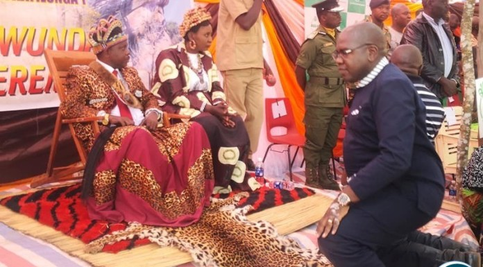 Health Minister of the Republic of Zambia, Hon. Dr. Chitalu Chilufya was Guest of Honour at the dazzling Nyawunda Traditional Ceremony of the Lunda speaking people of Mwinilunga district in North Western Province